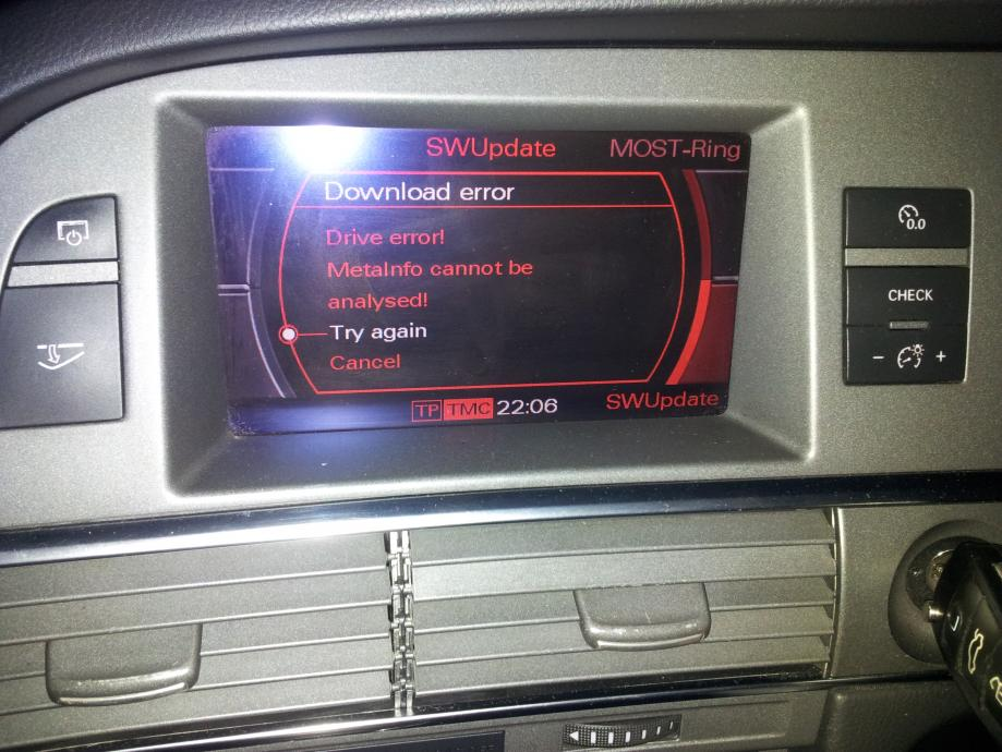 AUDI A6 COMPONENT PROTECTION