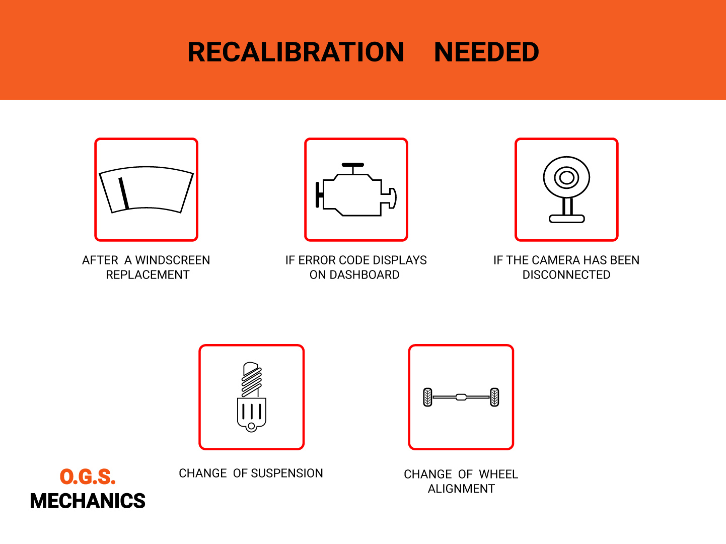 when do you need to get adas recalibration